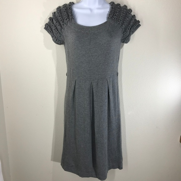 Fever Dresses & Skirts - Fever Gray Sweater Dress Size Petite Medium
